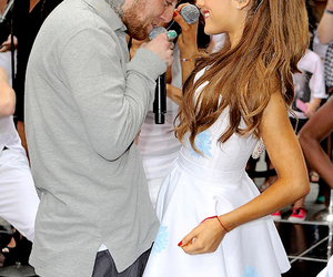 ariana grande, mac miller, and the way image