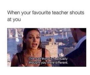funny, teacher, and school image