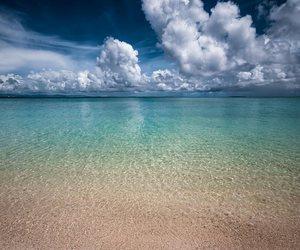 beach and fiji image