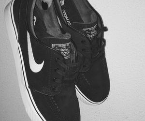 nike, shoes, and skateboarding image