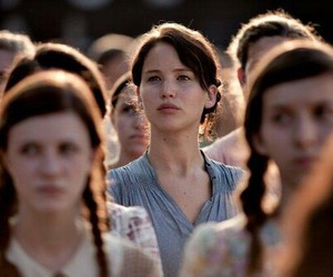 the hunger games, katniss everdeen, and hunger games image