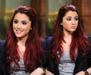 ariana grande, red hair, and ariana image