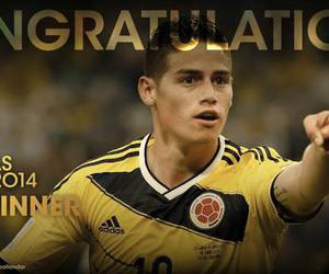 congratulations, seleccion colombia, and james image