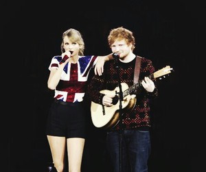 Taylor Swift, ed sheeran, and singer image