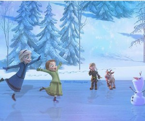 anna, childhood, and frozen image