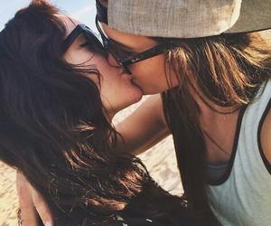 gay, girls, and kiss image