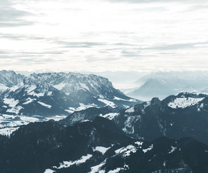 mountains, nature, and cold image