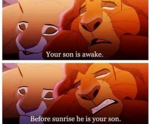 baby, disney, and funny image