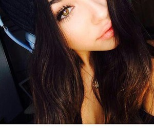 madison beer and eyes image