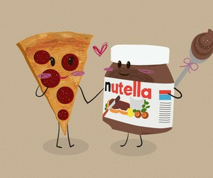 nutella and pizza image