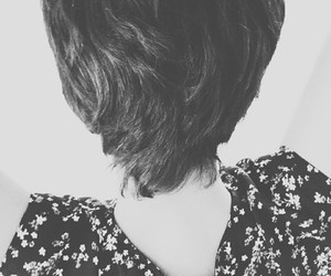 haircut, pixie, and shorthair image