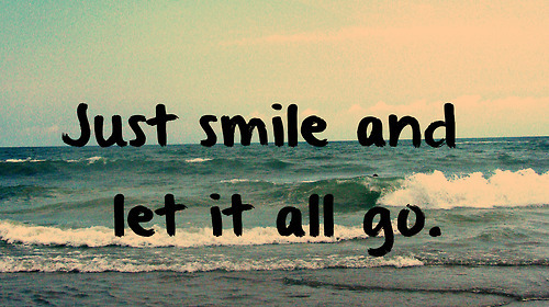 Just smile quotes tumblr - Google Search on We Heart It