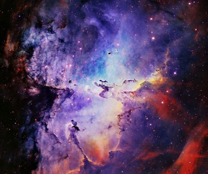 cosmos, galaxy, and space image