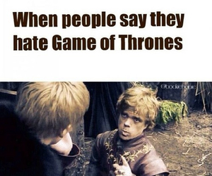 game of thrones and tyrion image