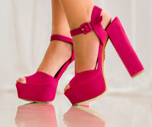 shoes, accessories, and pink image