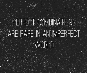 beautiful, imperfect, and quote image