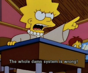 simpsons, lisa, and wrong image