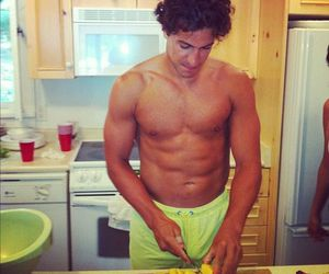abs, cooking, and OMG image