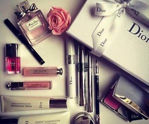 dior, makeup, and make up image