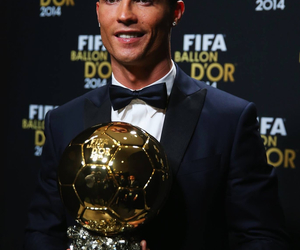cr7, ballon d'or, and hala madrid image