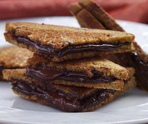 chocolate, nutella, and food image