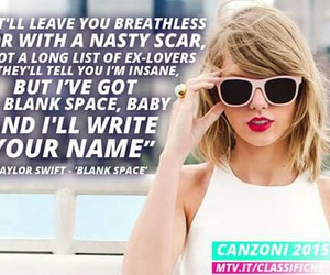 1989, blank space, and mtv image