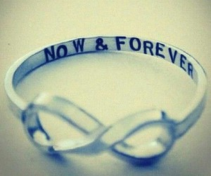 infinity, now, and ring image