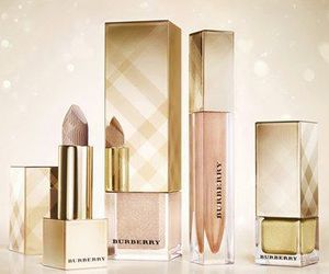 Burberry, luxury, and gold image