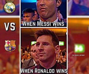 messi, Barcelona, and Ronaldo image