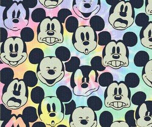 color, wallpaper, and mickey image