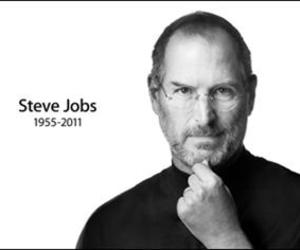r.i.p and Steve Jobs image