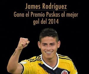 colombia, futbol, and james image
