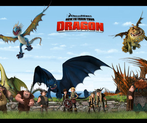 astrid, dragons, and tuff image