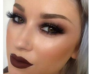 girls, makeup, and love image