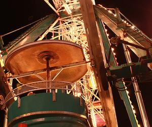 ferris wheel and lights image