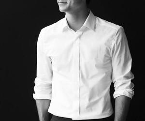 black&white, hot boy, and Hot image