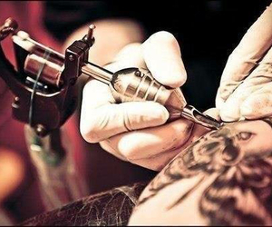 ink, tattoo, and tatuatore image