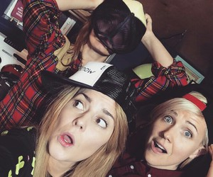 holy trinity, grace helbig, and hannah hart image