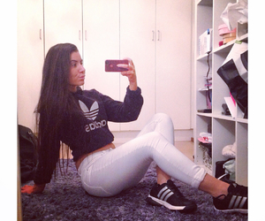 adidas, outfit, and sporty image