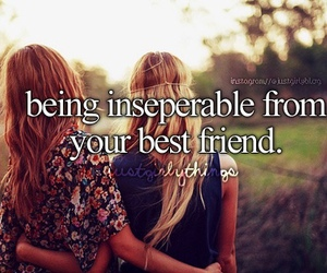 best friends, friendship, and justgirlythings image