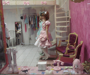 anime friends and lolita image