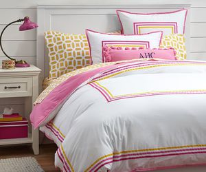 decor, pink, and girlsroom image