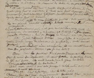 Arthur Rimbaud, damned, and manuscript image