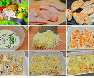 Chicken, cooking, and delicious image