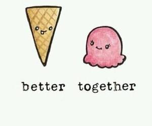forever, helado, and mejorjuntas image