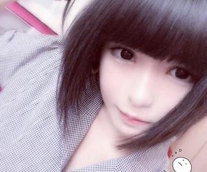 kawaii, 美少女, and 黒髪 image