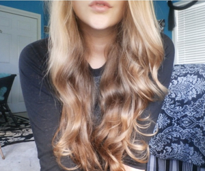 blond, blonde, and curls image