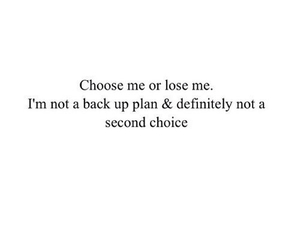 quote, choose, and second choice image