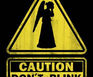 doctor who, geek, and weeping angels image