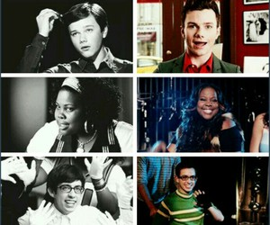 before and after, glee, and idol image